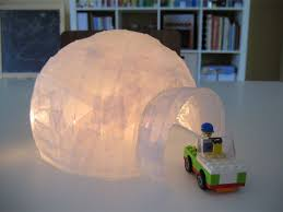 Paper Mache Christmas Crafts - bookhoucraftprojects project 96 vellum paper mache igloo