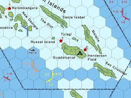 Guadalcanal Map Artwork By Gary Krockover