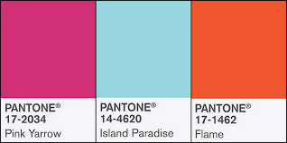 pantone colors for spring 2017 2 good claymates pantone spring 2017 fashion colors pink yarrow