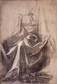 Drapery Art File Leonardo Da Vinci Drapery For A Seated Figure 2 Jpg