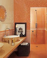 orange bathroom ideas home staging tips space saving small bathrooms design