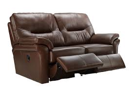 Recliner Sofa G Plan Washington Leather 2 Seater Recliner Sofa Tr