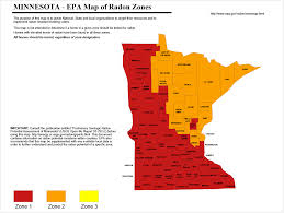 Radon Zone Map South Metro Home Inspections
