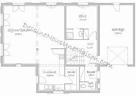 plan maison 4 chambres gratuit plan maison 4 chambres etage beau galerie plan de maison
