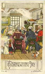 vintage thanksgiving cards