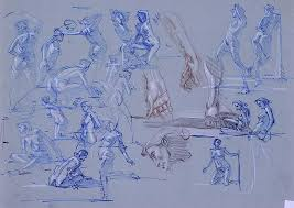figure drawing for artists making every mark count steve huston
