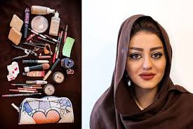 makeup school michigan photo series shows the of makeup in iran