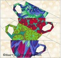 68 best sew it paper piecing images on quilt