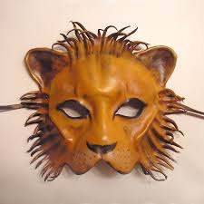 lion mask this is the lion mask that falco wears at the masquerade party