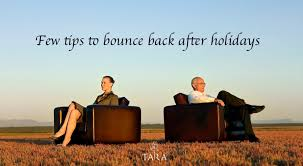 how to get back into the routine after the holidays hill of tara