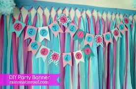 diy diy happy birthday banner template home decor color trends