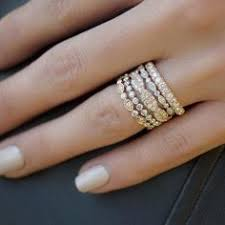 Stacked Wedding Rings by 10 Stacked Wedding Rings Worth Obsessing Over Alternative