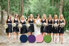 top 6 most flattering bridesmaid dress colors in fall 2014 2015