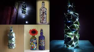 diy art attack 5 minutes magic bottle lamp home decor ideas with