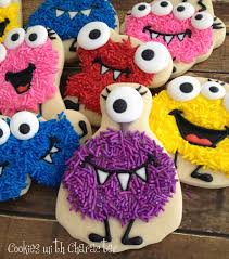 cute for kids and halloween how to make sprinkle monster cookies