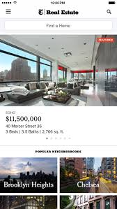 nyt real estate find a home apartment or condo on the app store