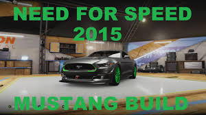 build ford mustang 2015 need for speed 2015 ford mustang build forza horizon 2 builds
