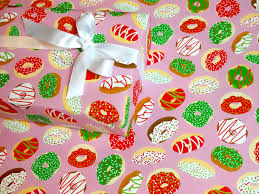 pretty wrapping paper donut christmas gift wrap gift wrap gift wrap