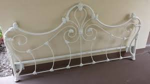 Antique Headboard And Footboard Awesome Antique Metal Headboards Queen 94 With Additional King
