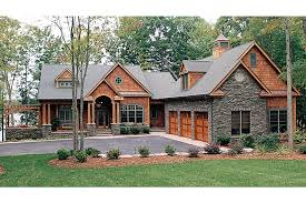 Lake House Plans Walkout Basement Home Plan Homepw16733 4304 Square Foot 4 Bedroom 3 Bathroom
