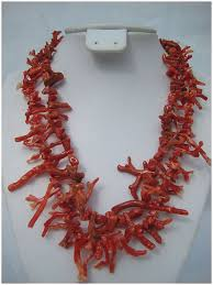 natural coral necklace images Natural untreated italian coral 2 strand necklace julie jpg