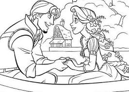 tangled coloring pages flynn flynn rapunzel coloring