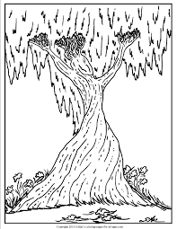 coloring pages for adults tree surrealistic coloring pages s mac s place to be