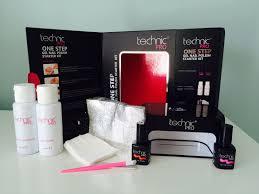technic pro one step gel nail polish starter kit review shop