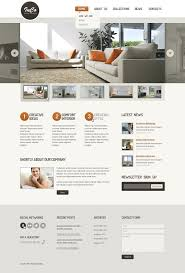 interior u0026 furniture responsive website template 44378