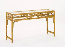 Rattan Console Table Inside Rattan Console Table Competitive Price Desire As Well 16