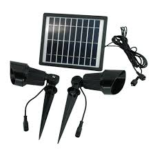 Commercial Solar Powered Flood Lights by Solar Goes Green Solar Bright White Led Black Outdoor Super Spot