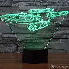 Light Table Desk 2017 Star Trek Uss Enterprise 3d Led Night Light Decoration Lamp