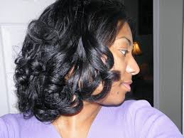 hair growth with wet set hairstyle the perfect roller set transitioning styles curlynikki