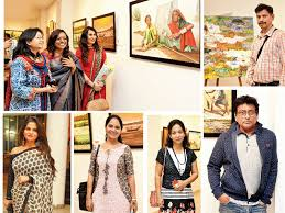 exhibition simple joys of life come alive on canvas events