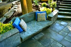 Boulder Outdoor Furniture by Muirfield Pond U0026 Boulder Walls Traditional Landscape