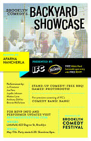 Backyard Comedy The Ifc Brooklyn Comedy Showcase U2013 Tickets U2013 Littlefield