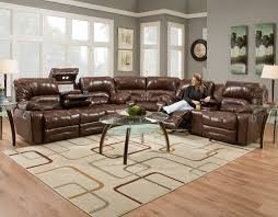 Modern Reclining Sectional Sofas by Furniture Leather Sectional Sofa Leather Reclining Sectional