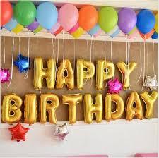 birthday helium balloons cheap happy birthday silver gold birthday helium ballon foil