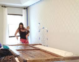 diy bedroom wall decor and diy wall stencil patterns image 11 of