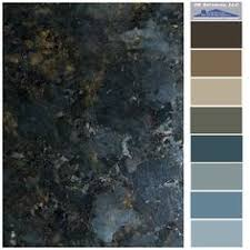 the best paint colours to update forest green green granite