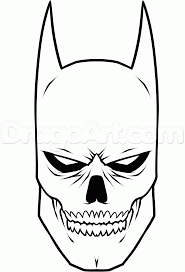 how to draw a skull by dc free