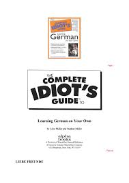 balkon tã pfe german the complete idiot s guide to lidia by lidia issuu