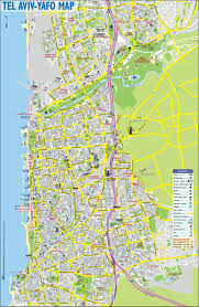 Nazareth College Map Tel Aviv Sightseeing Map