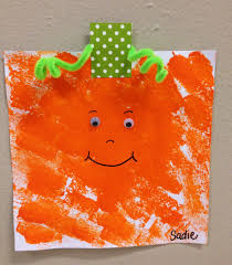 Construction Paper Halloween Crafts by Spookley The Square Pumpkin Sponge Painting Halloween