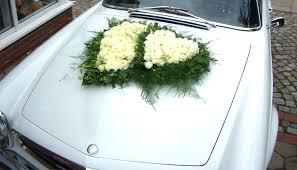 hochzeitsdekoration auto floristikfachgeschäft kleinschmidt harburg