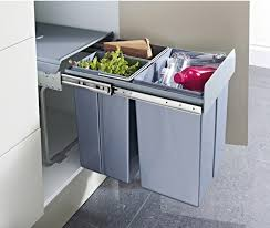 Kitchen Cabinet Waste Bins by Pull Out Waste Bin For Hinged Door Cabinets 2x 10 1x 20 Litres
