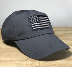 Flags Made In Usa Ripstop Full Fabric American Flag Tactical Cap Made In Usa U2013 Red