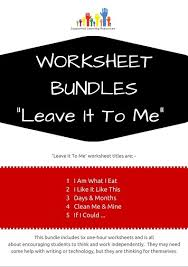 worksheet bundles supporting learning resources