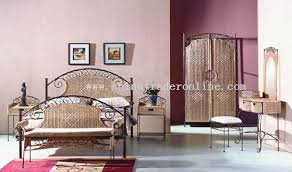 rattan bamboo bedroom set bedroom furniture bedroom china wholesale
