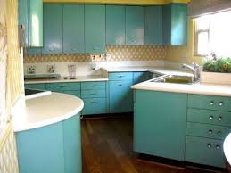 Kitchen Cabinet For Sale by 1950 U0027s Mid Century Aqua Steel Kitchen Cabinets For Sale Made By